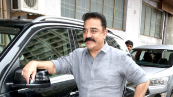 Kamal Haasan and Nora Fatehi snapped at T-Series office in Andheri