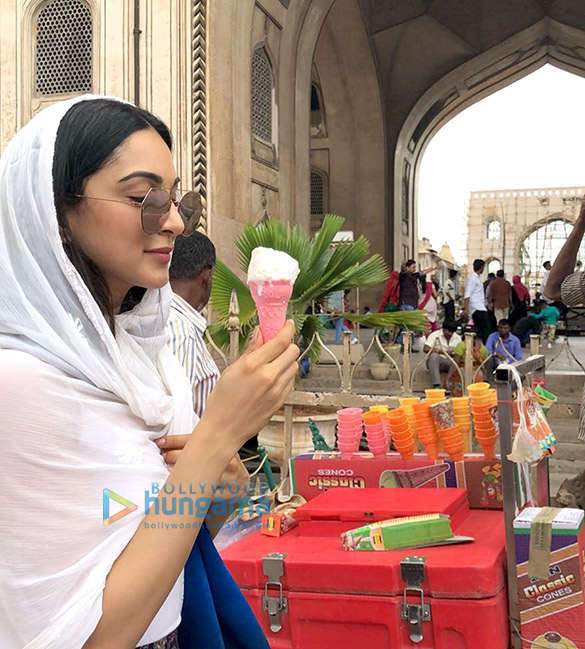 Lust Stories actress Kiara Advani goes street shopping in Hyderabad