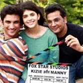 On The Sets Of The Movie Kizie Aur Manny
