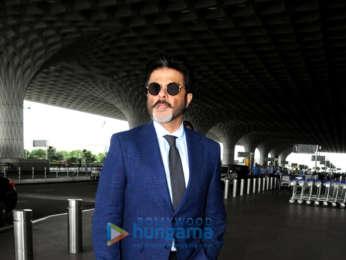 Kriti Sanon, Hema Malini and Anil Kapoor snapped at the airport