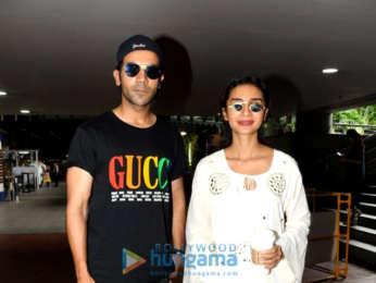 Kriti Sanon and Hema Malini snapped at the airport