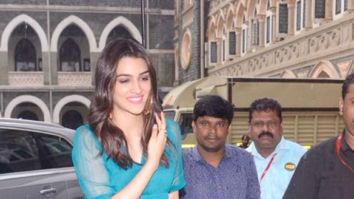 Kriti Sanon snapped arriving at St. Xavier's College for the education New Zealand panel discussion