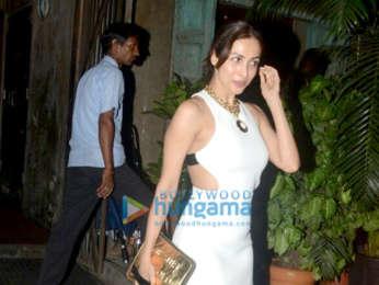 Malaika Arora snapped at Pali Bhavan