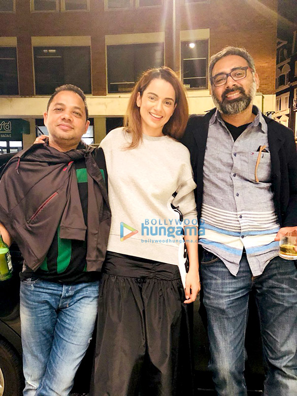 Kangana Ranaut and Rajkummar Rao wrap up London schedule of Mental Hai Kya in the most Bollywood way