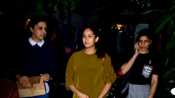Mira Rajput snapped outside a cafe in Bandra