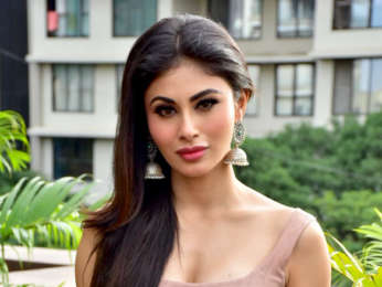 Mouni Roy and Ritesh Sidhwani snapped during media interactions for Gold