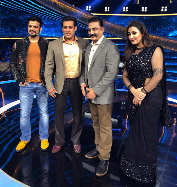Salman Khan and Kamal Haasan come together to shoot for Dus Ka Dum special episode