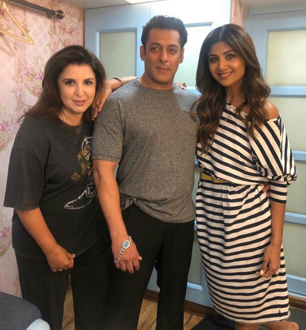 Salman Khan's pic with Shilpa Shetty on Dus Ka Dum sets will take you straight to the 90s!
