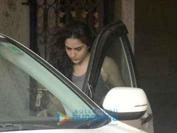 Sara Ali Khan and Sonakshi Sinha snapped at the gym