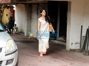 Sara Ali Khan snapped in Mumbai