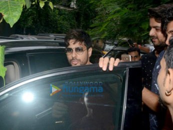 Sidharth Malhotra snapped at Hakim's Aalim at Khar