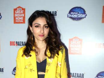 Soha Ali Khan graces the Kitchen Superstar event