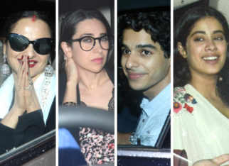 Sridevi's close friends Rekha and Karisma Kapoor give their blessings to Dhadak duo Ishaan Khatter and Janhvi Kapoor