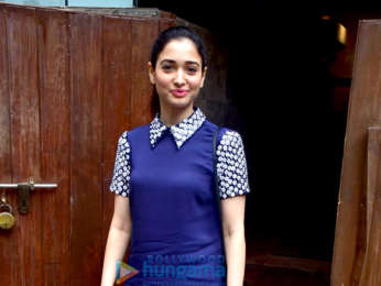 Tamannaah Bhatia snapped at Indigo Delicatessen in Bandra
