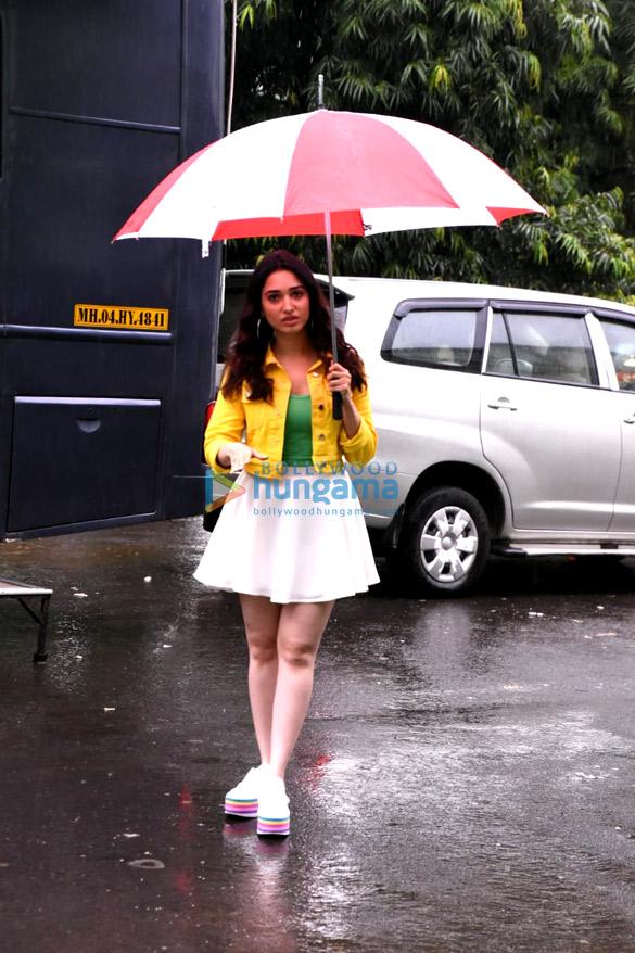 Tamannaah Bhatia snapped at an ad shoot at Filmcity (5)
