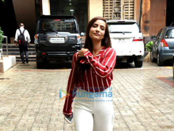 Tia Bajpai snapped promoting her upcoming web series 'Zakhmi'