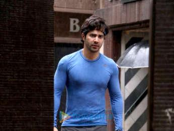 Varun Dhawan and Ananya Panday snapped at the gym