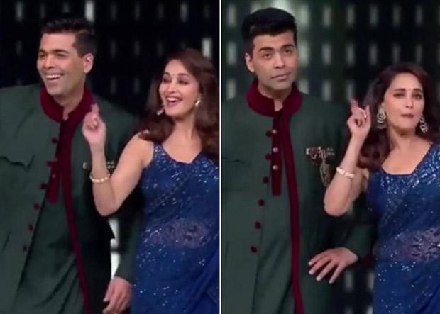 WATCH Madhuri Dixit and Karan Johar's dance on 'Ladki Badi Anjani Hai' from Kuch Kuch Hota Hai on Dance Deewane will make your day