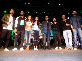 Abhishek Bachchan, Vicky Kaushal & Taapsee Pannu grace 'the Manmarziyaan' concert tour