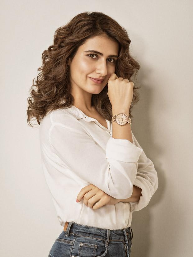 After Varun Dhawan and Shruti Haasan Fossil ropes in Fatima Sana Shaikh as brand ambassador
