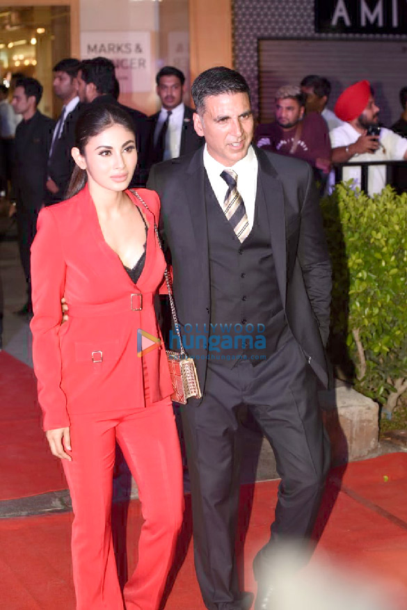 Akshay Kumar and Mouni Roy grace the special screening of Gold at PVR Plaza, CP, New Delhi