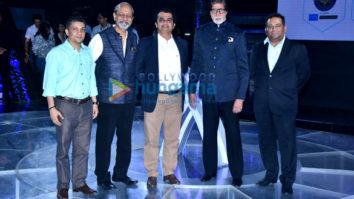 Amitabh Bachchan at the launch of 'Kaun Banega Crorepati 10'