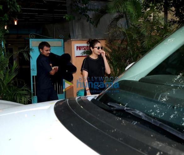 Anushka Sharma snapped in Versova
