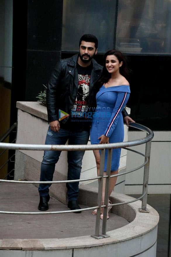 Arjun Kapoor and Parineeti Chopra snapped promoting Namaste England