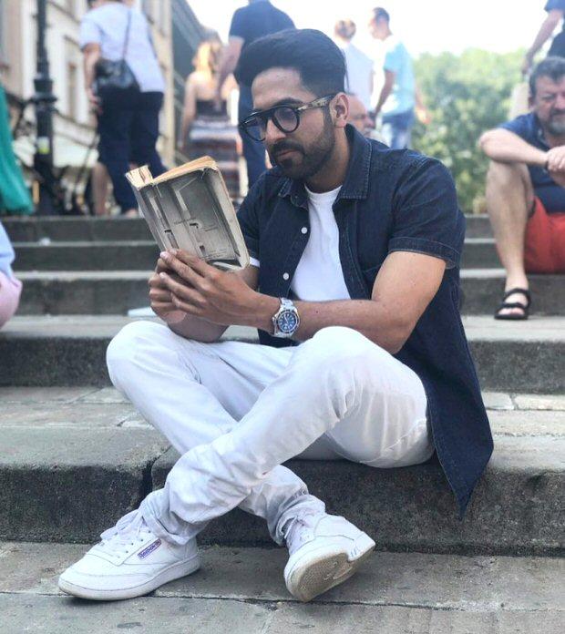 Ayushmann Khurrana gets featured on popular Instagram account 'Hot Dudes Reading'