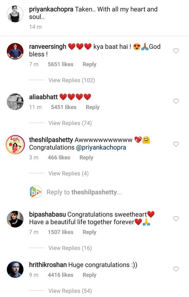 BREAKING! Priyanka Chopra and Nick Jonas OFFICIALLY announce their engagement; Bollywood stars wish them