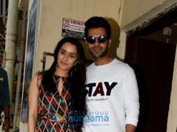Cast of Stree promote their film