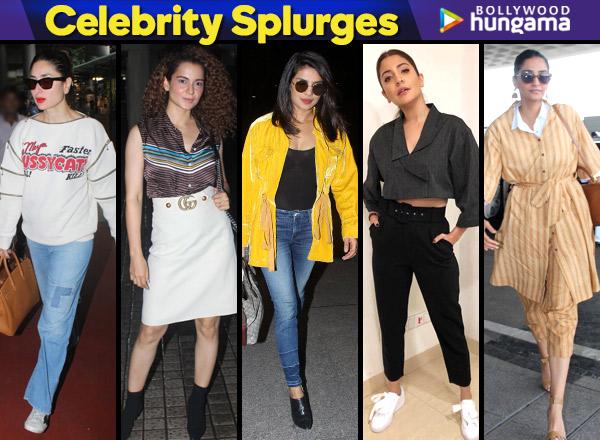 Celebrity Splurges – Kareena, Kangana, Priyanka, Anushka and Sonam