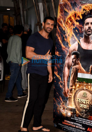 Celebs grace the screening of Satyameva Jayate