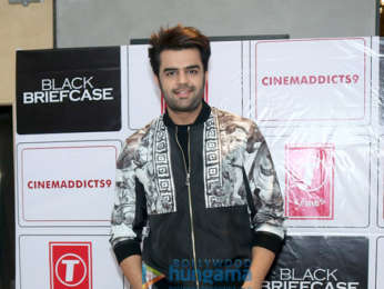 "Celebs grace the special Screening of Maniesh Paul's ""Black Briefcase"" in New Delhi"