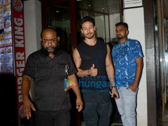 Disha Patni, Tiger Shroff and Aditi Rao Hydari spotted at Bastian
