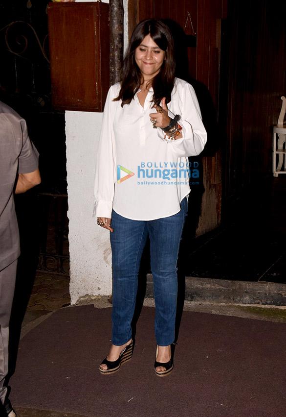 Ekta Kapoor snapped in Mumbai