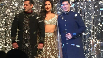 Can't keep CALM! Salman Khan and Katrina Kaif turn showstoppers for Manish Malhotra and they look DROP DEAD AMAZING!