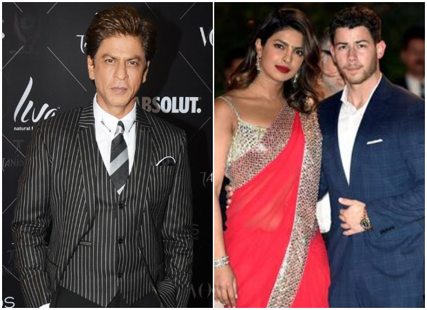 Shah Rukh Khan gives an EPIC reply when asked about Priyanka Chopra - Nick Jonas' engagement