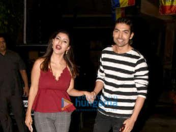 Gurmeet Choudhary and Debina Bonnerjee snapped in Juhu