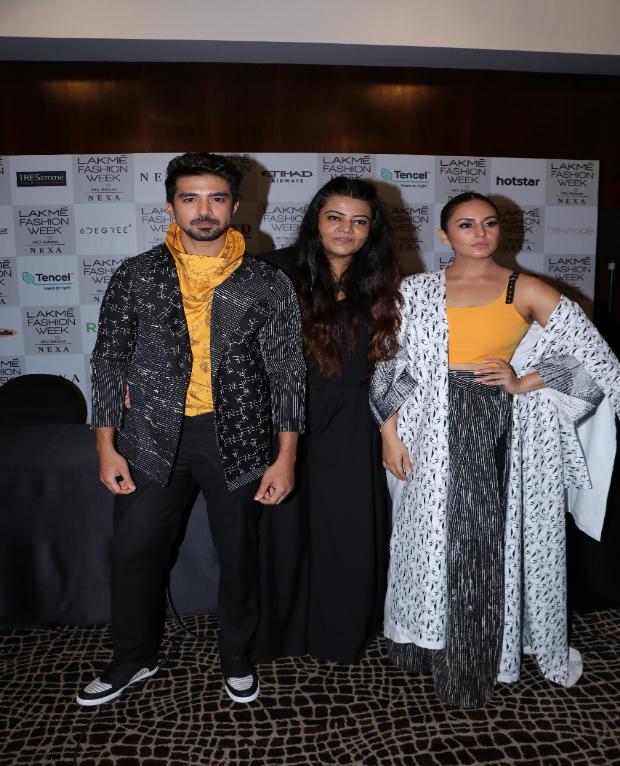 Huma and Saqib for Anvita Sharma