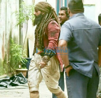 On The Sets Of The Movie Hunter