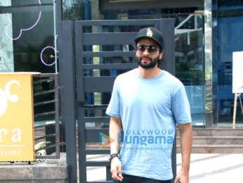 Jackky Bhagnani spotted at Yauatcha in BKC