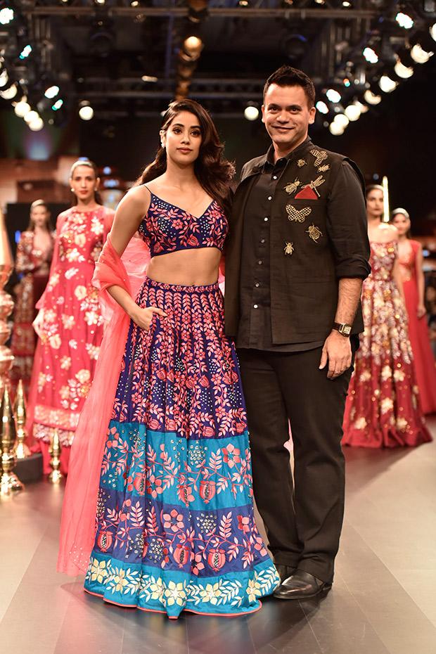 Janhvi Kapoor and Nachiket Barve
