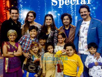 Kajol promotes 'Helicopter Eela' on the show India's Best Dramebaaz