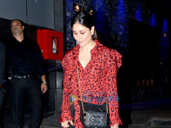 Kareena Kapoor Khan snapped with her friends at Hakkasan in Bandra