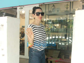 Karisma Kapoor snapped at BBlunt salon