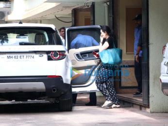 Karisma Kapoor spotted in Bandra