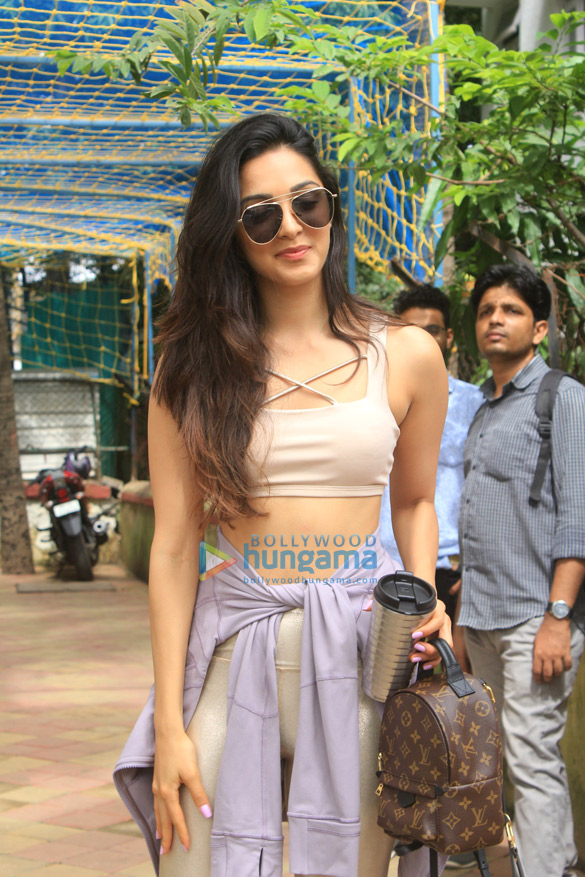 Kiara Advani snapped post dance class