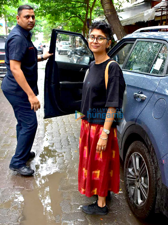 Kiran Rao and Pamela Singh Bhutoria snapped at Kitchen Garden in Bandra
