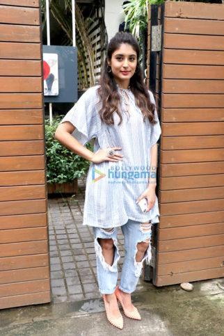 Kritika Kamra snapped at Sony Office in Bandra
